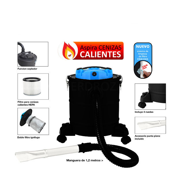 ASPIRADOR CENIZA CALIENTE FAR TOOLS